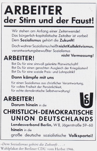 CDU antifaschistisch