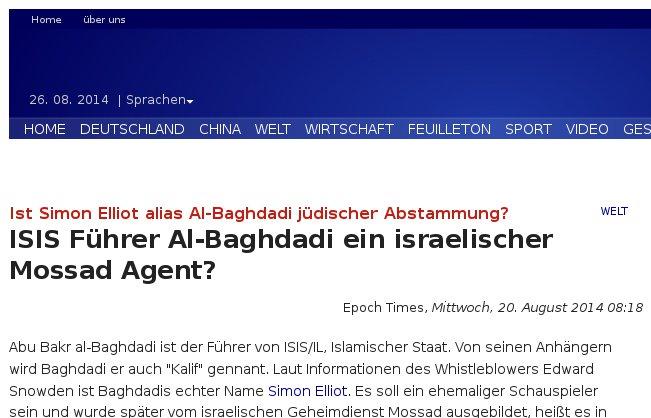 Epoch-Times antisemitisch