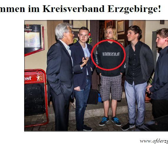 AfD trägt Burzum-Shirt