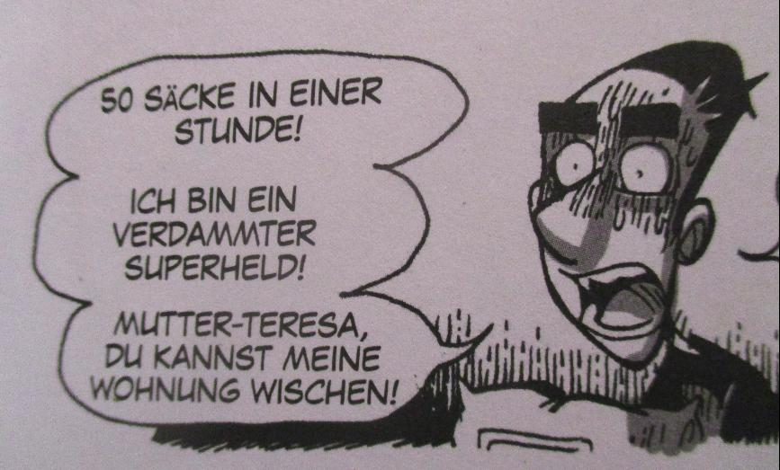 Kobane-Comic Mutter Theresa