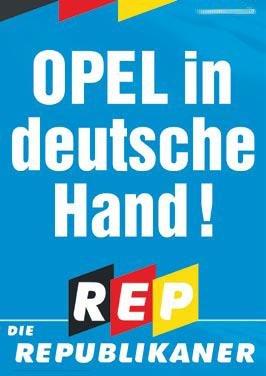 REPs-Plakat