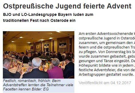 Ostpreußens alte Jugend