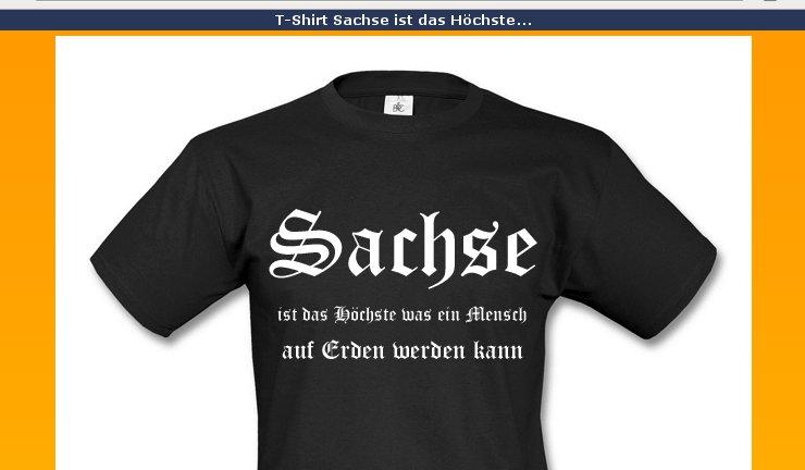 Sachsenstolz-Tshirt