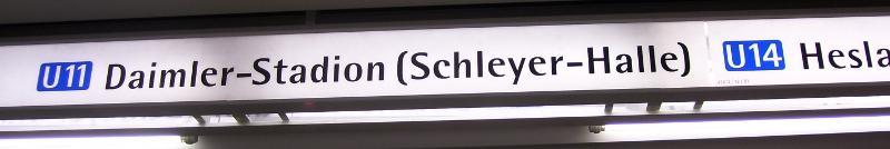 Schleyer-Halle in Stuttgart