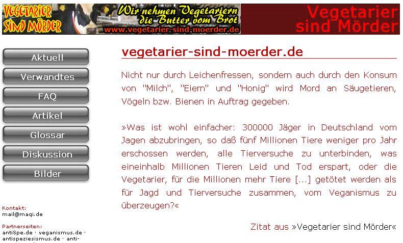 Mörder-Vegetarier