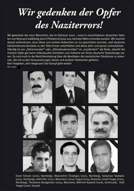 Gedenken an Neonazi-Opfer