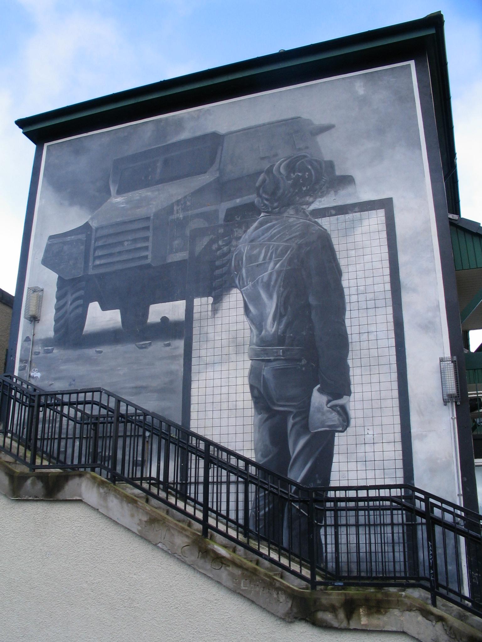 Mural Bogside Derry