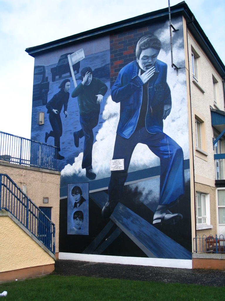 katholisches Murral in Derry