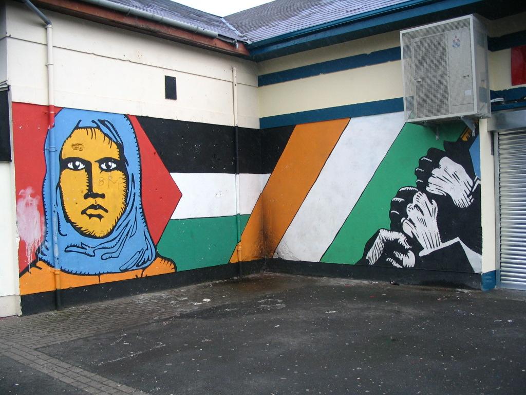 Palästina-Solidarität in Belfast