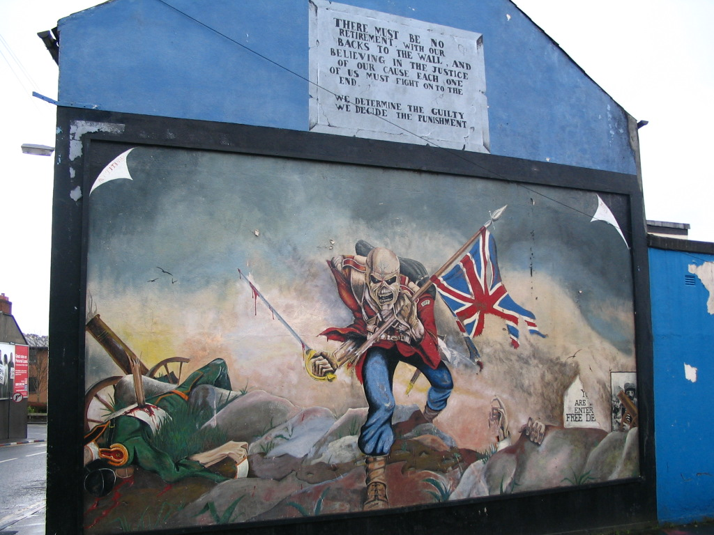 Protestantisches Murral in Derry